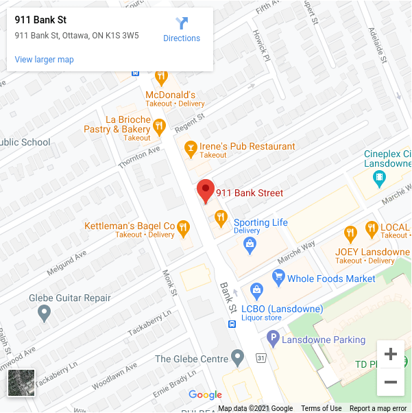 Google map to 911 Bank store