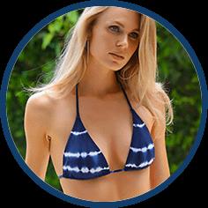 Tie Dye sting bikini by Becca