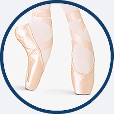 Pointe shoe by Bloch