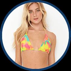 Neon triangle bikini by Peixoto