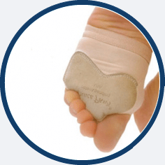 Dance Paw sole saver for contemporary dance