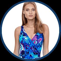 Designer swimsuit by Gottex