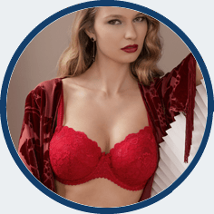 Prima Donna Red bra G cup