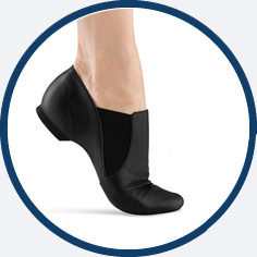 Bloch 499 jazz shoe