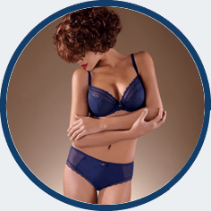 Chantelle blue bra