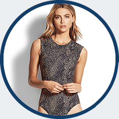 High neck swimsuit by Seafolly